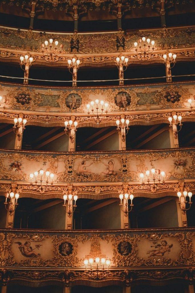 Empty Opera house - The Proud Italian