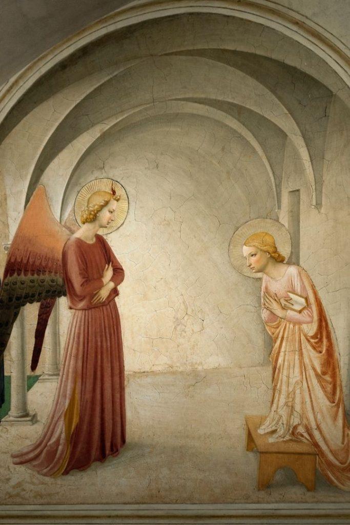 Fra Angelico frecoe - The Proud Italian