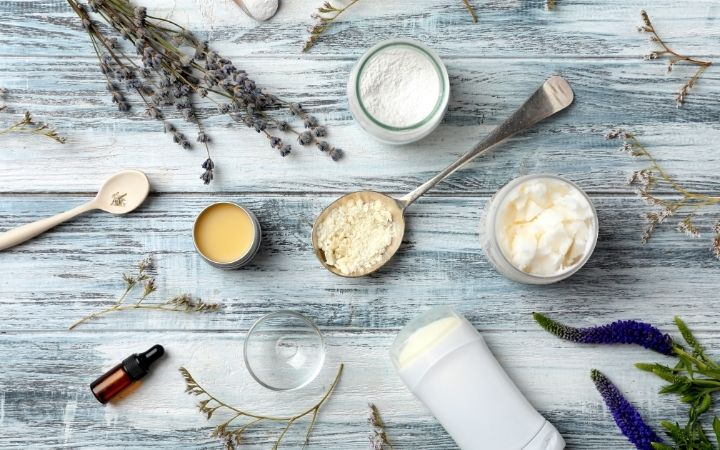 Handmade deodorant with ingredients - The Proud Italian