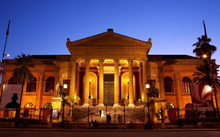 Opera house in Palermo - The Proud Italian