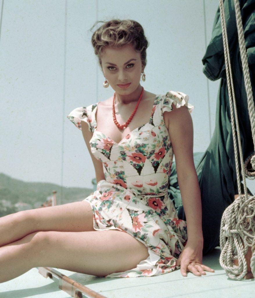 Sophia Loren in 1955 - The Proud Italian