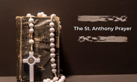 The St. Anthony Prayer