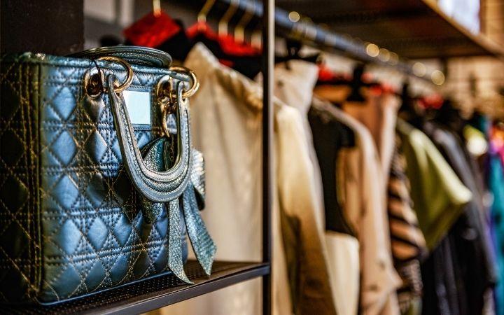 Designed Italian handbag on the shelf - The Proud Italian