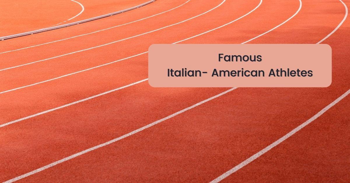 Famous Italian- American Athletes - The Proud Italian