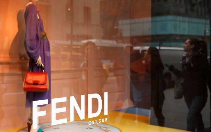 Fendi designer Italian handbag in the shop window - The Proud Italian
