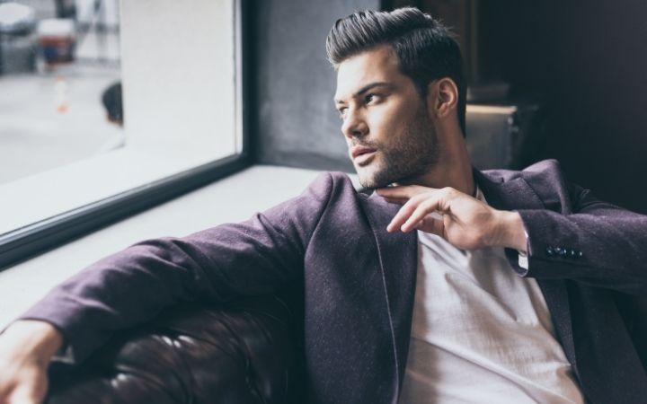 Handsome Italian man - The Proud Italian