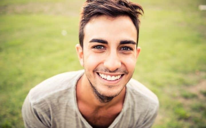 Italian man smiling - The Proud Italian