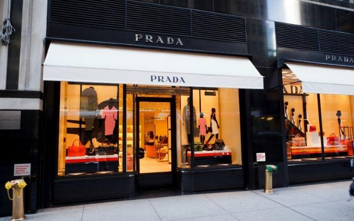 Prada shop window - The Proud Italian