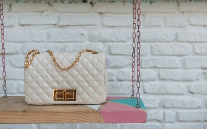 White designed Italian handbag - The Proud Italian