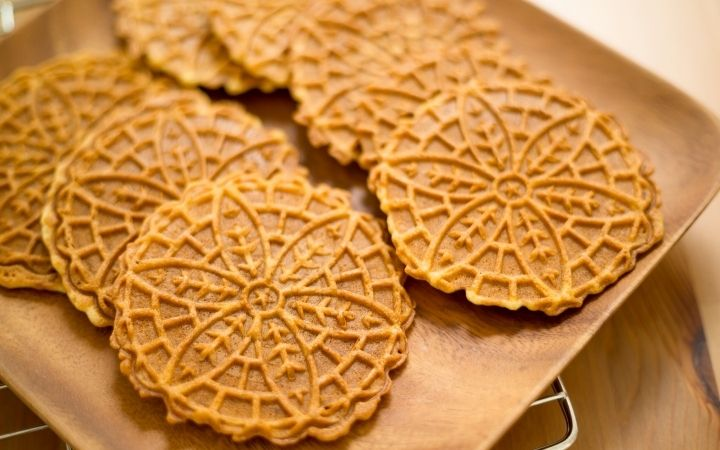 Homemade Pizzelle - The Proud Italian