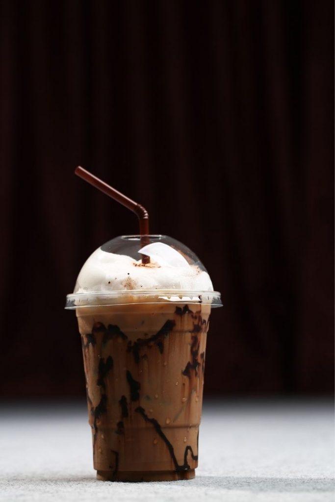 Mocha ice coffee - The Proud Italian