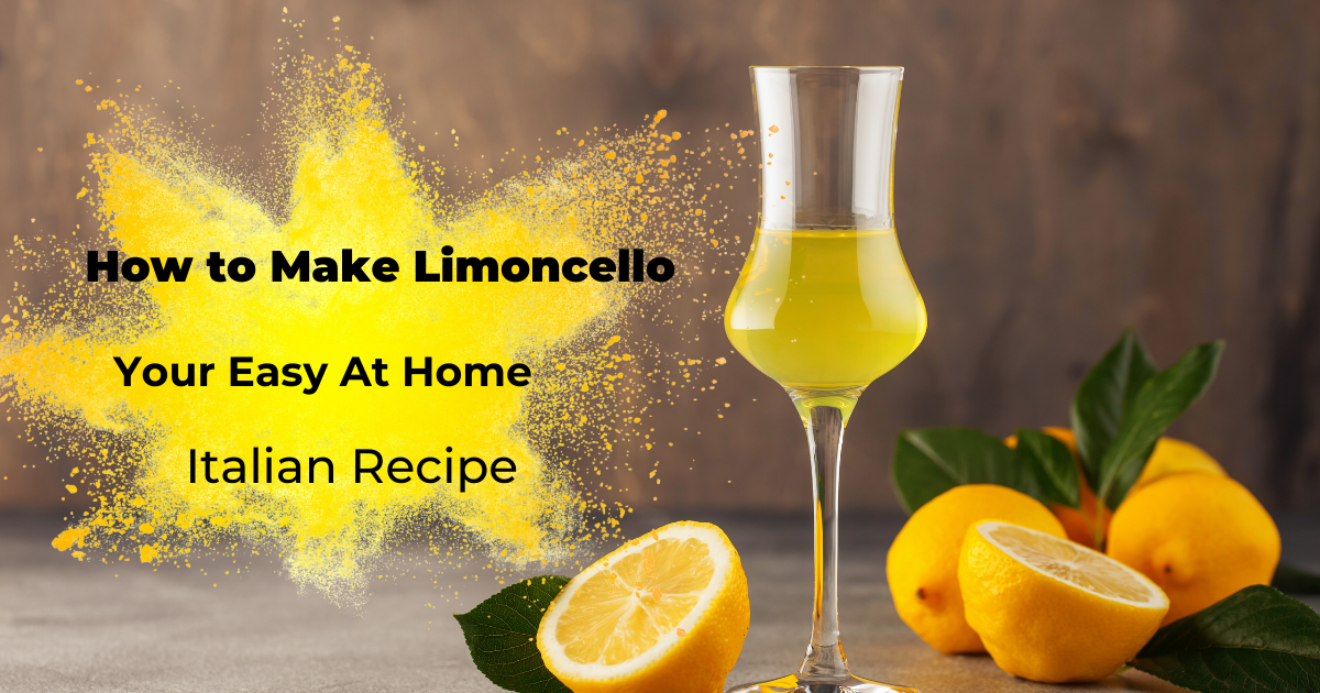 how to make limoncello