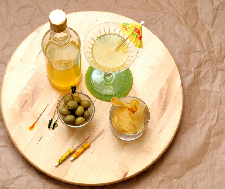 homemade limoncello and charcuterie platter