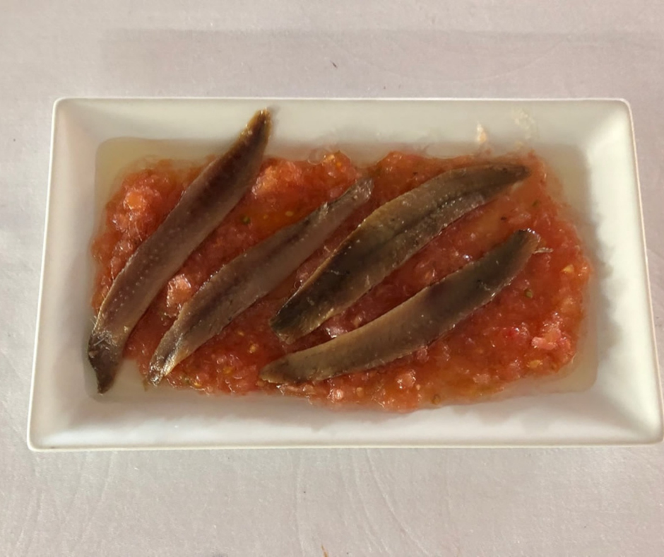 pasta fish sauce