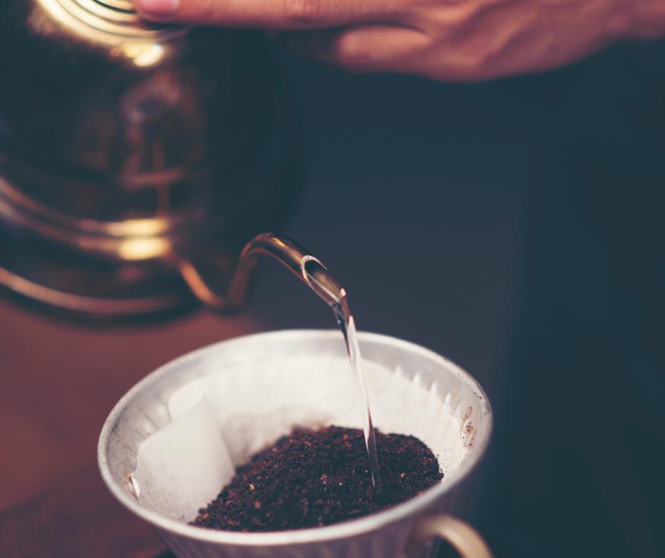 drip brewed coffee