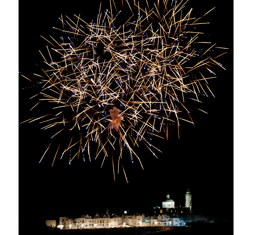 ferragosto fireworks display