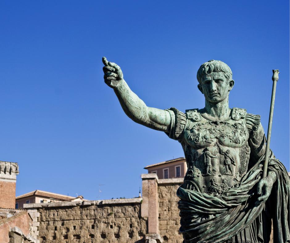 statue of emperor augustus in Italy