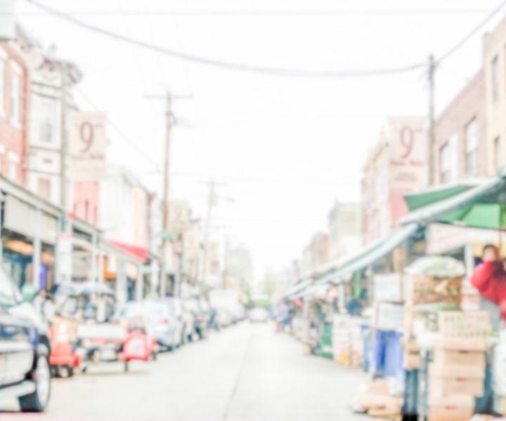 9th Street Italian Market in Philadelphia