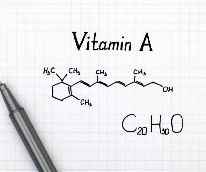 chemical composition vitamin a