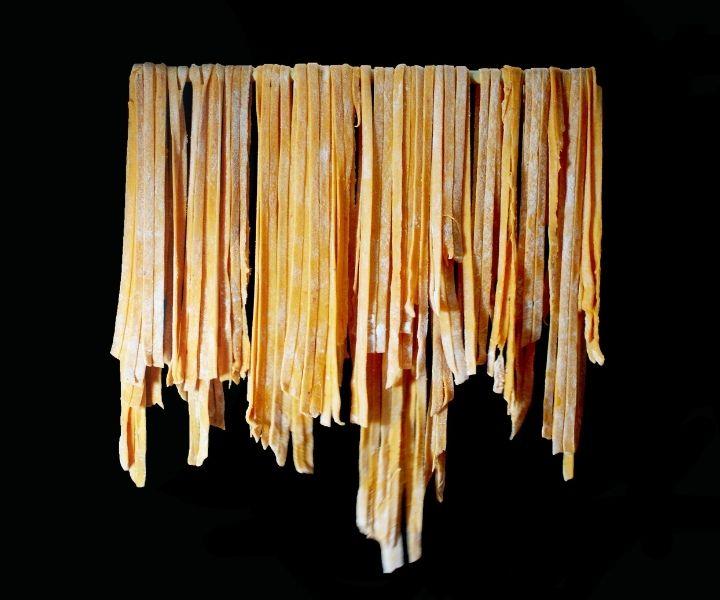 dry fresh pasta