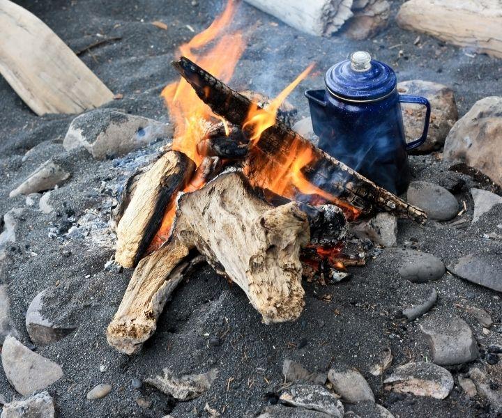 campfire coffee pot