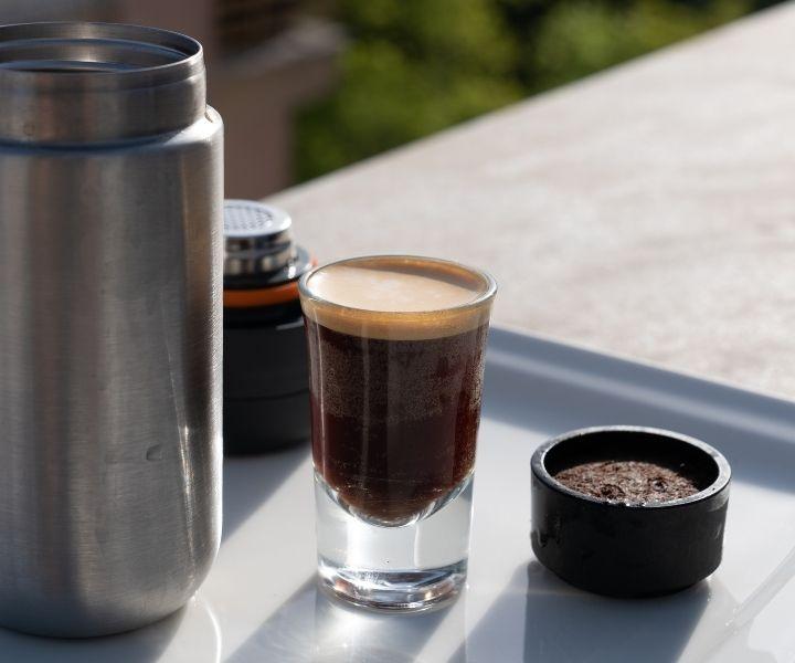 portable espresso method